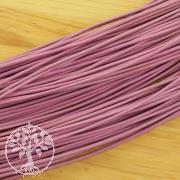Lederband -Standard- Ziege rund 1,5 mm Rosa