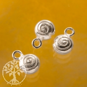 Spiral Endpart For Ear Pendant Silverbead