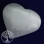 Tumbled Selenite Heart 50mm
