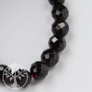 Granat Perlen facettiert 8 mm