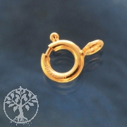 Spring Ring clasp 7mm Gold Filled 14K 1/20 Hamilton