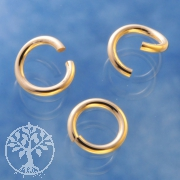 Gold Ring Offen 6.0x0.9mm Gold Filled 14K 1/20