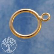 Ring zu Knebelverschluss Gold Filled 14K/20 11mm