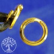 Split Ring 6 mm gold filled 14K 1/20Ham.