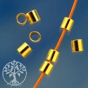 Crimps Crimptube goldfilled 2x2 mm