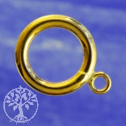 Ring zum Knebelverschluss Gold Filled 14K/20 12mm