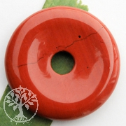 Jaspis rot Donut 30mm A