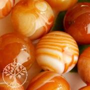 Agate Red Gemstone Beads big