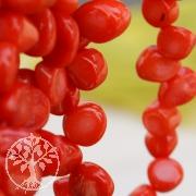 Coral Beads Bambus Drop