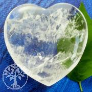 Crystal Quartz Heart 55-60mm