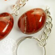 Roter Jaspis Schlüsselanhänger
