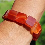 Karneol Armband Quattro