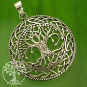 World Tree Sterling Silver 925 Round