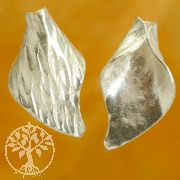 Pearl as silver leaf brushed 18 mm