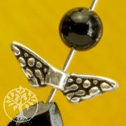 Flügel Perlen Mini Fee Silber 925 Kleine Silberperlen