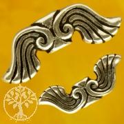 Engelsflügel Wasser Flügelperlen Silberperlen 925