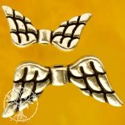 Engelsflügel Sterling Silberperlen 925 für Steinengel