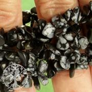 Schneeflocken-Obsidian für schmale kleine Arme