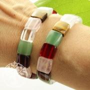 Stone mix bracelet Quattro variation