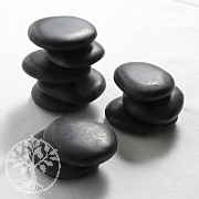 Hot Stones Massage, Set 5 big 5 medium Stones