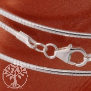 Silver Necklace Tonda 45cm/1,2mm