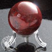 Kugel Jaspis Rot Steinkugel 40mm