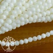 Perlmutt 4 mm Kugelperlen Perlmuttperlen kleine