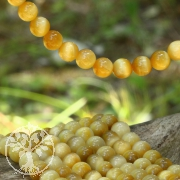 Tigerauge Perlen AA  goldgelb Tigeraugeperlen 4,5 mm