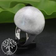 Silber Ring Halbkugel 26x41mm Grösse 59 Silber 925 Ring Pilz