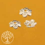 Bead Caps Flower Silver925 4.75mm