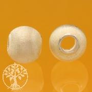 Silberperle Disco Sterlingsilber 925 6mm 2,4mm Loch