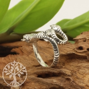 Silberring Schlange Ring Snake 21x32mm Silber 925