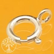 Federring Verschluss 7mm Silberverschluss