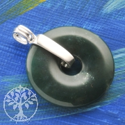 Donuthalter für 30mm Donut Schlaufe aus Silber 925