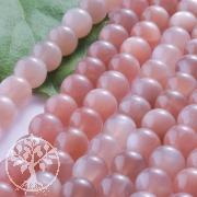 Mondstein Pink Rose Kugelperlen 5mm Mondsteinperlen