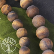 Golden Tigereye jewelry beads strand 10mm MAT