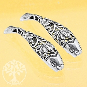 Silver Bead Fish Lotus Silver 925 46mm