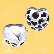 Silberperle Herz SuperLove Silberanhänger 925 13mm