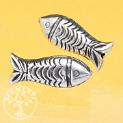 Silverbead Fish Sterlingsilver 925er 21mm