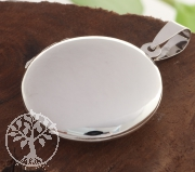 Silber Medaillon Anhänger Silber925 35mm