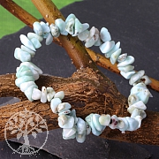 Larimar bracelet Tumbled Mini Gemstones