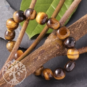 Tiger Eye´s eye bracelet 11 mm bis 12mm