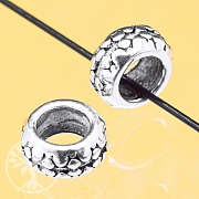 Silver Circle Bead Sterlingsilver 2x5mm
