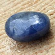 Saphir blau Trommelstein XL