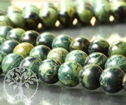 Eldarite Loose Beads 4mm 40cm Gree Black Eldaritebeads
