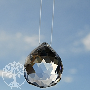 Nylon Faden für Feng Shui Kristalle -Band zum Aufhängen- transparent 0,5mm 10m