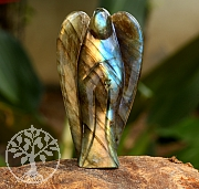 Labradorit Angel Carving 62mm