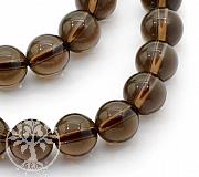 Smokey Quartz Round Beads 6mm