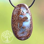 Opal Stein Anhänger 27*16mm