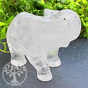 Elefant Kristall Edelstein 70*46*96mm